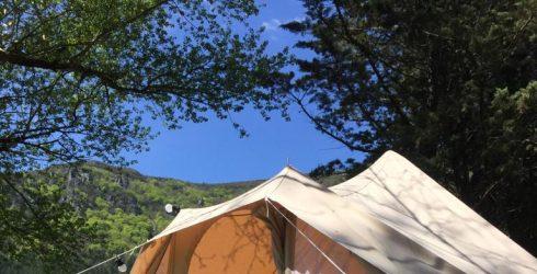 La tente «Poz», la tribale
